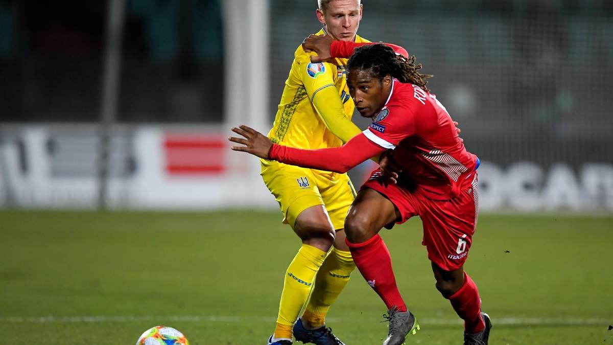 Люксембург, який зіграє з Україною, може отримати технічну поразку через натуралізованого гравця