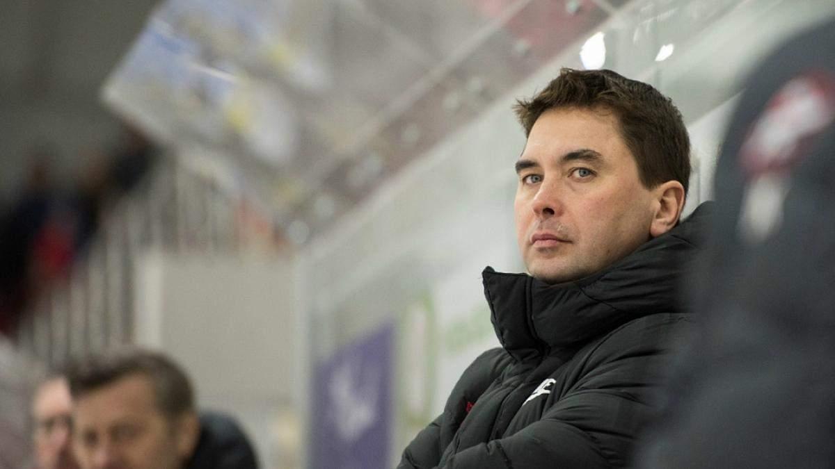 Сергій Вітер – головний тренер збірної України з хокею
