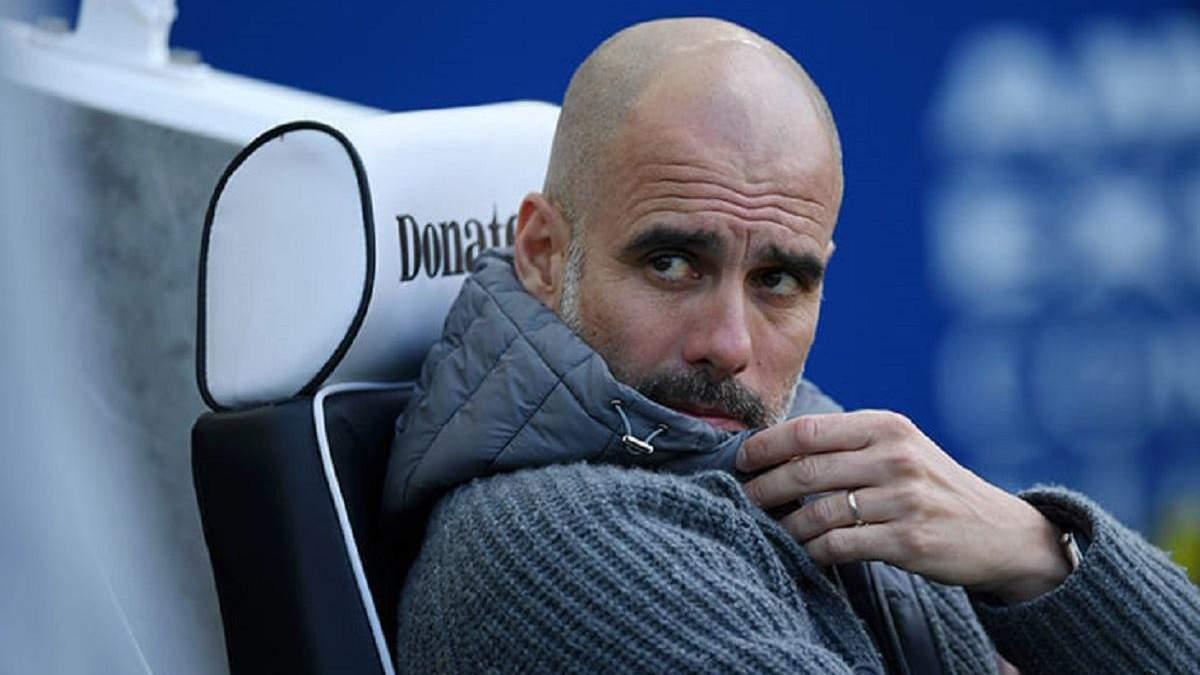 """""""Манчестер Сіті"""" розіграє куртку Гвардіоли"""
