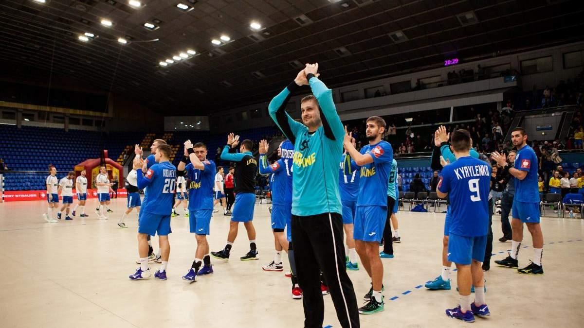 Збірна України з гандболу у драматичному матчі програла чинним чемпіонам світу