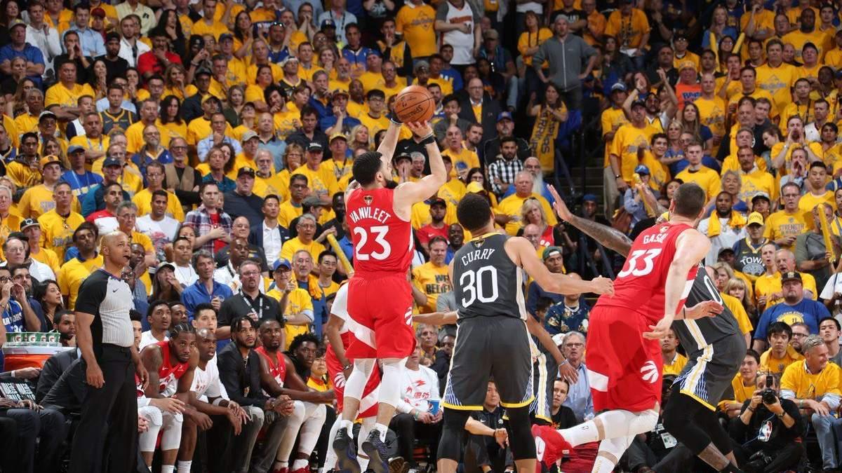 """""""Торонто Репторс"""" – чемпіон НБА"""