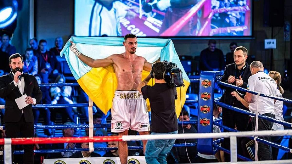 Непереможний українець Захожий нокаутом здобув чергову перемогу