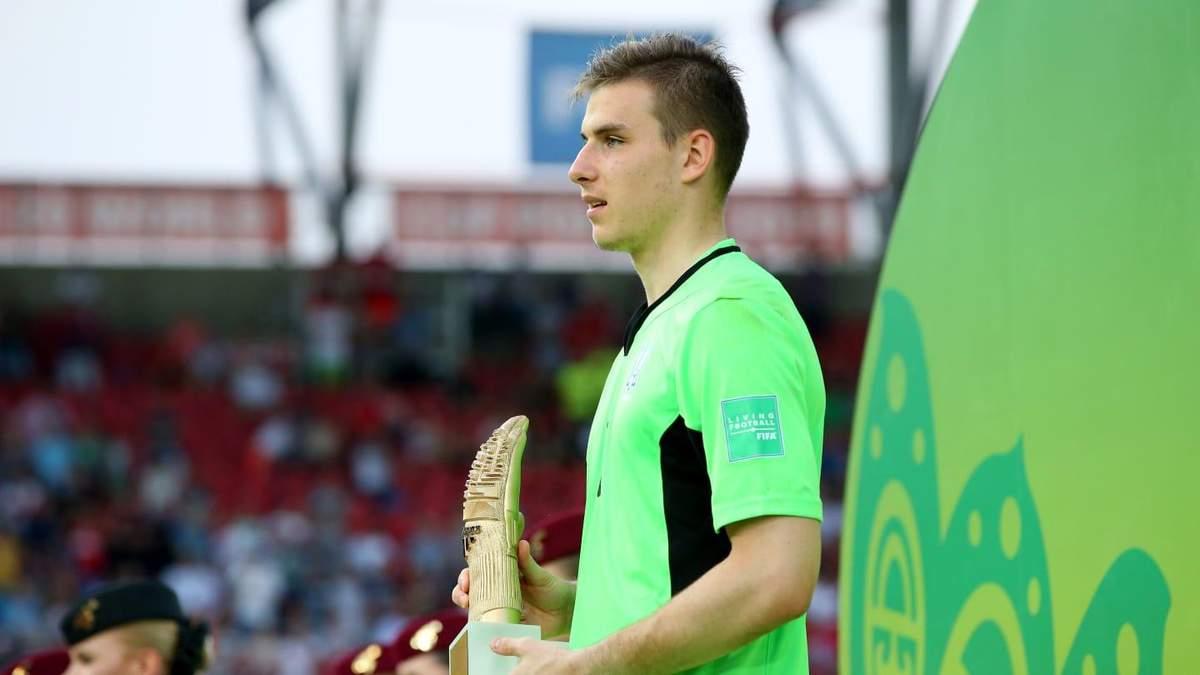 Андрей Лунин стал лучшим вратарем Чемпионата мира U-20