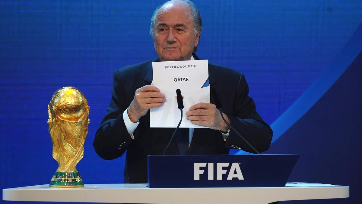ФІФА може екстрено змінити країну-господарку ЧС-2022 з футболу