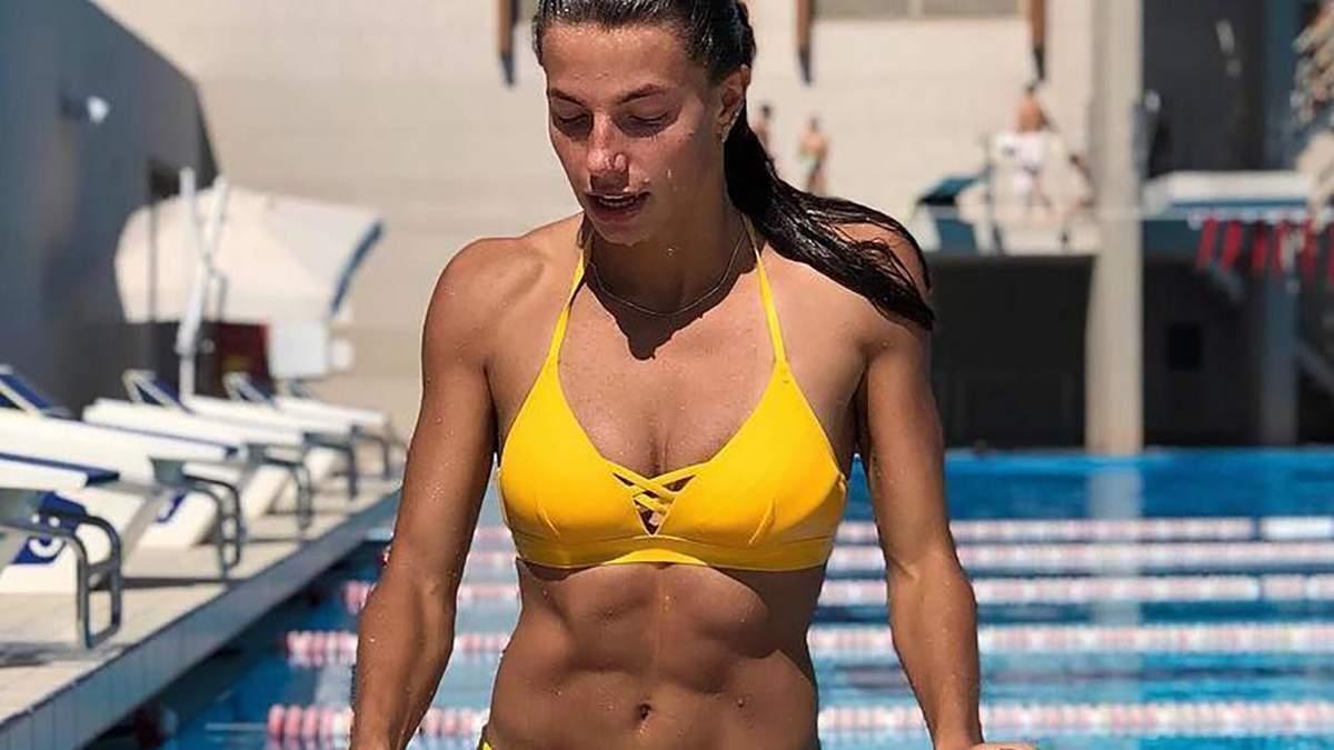 Українська легкоатлетка Бех-Романчук знялася у рекламі купальників: пікантні фото