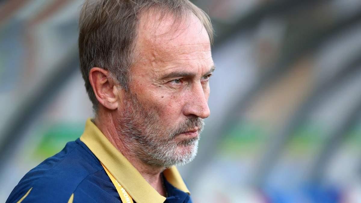 Тренер сборной Украины U-20 Александр Петраков получил почетное звание от президента