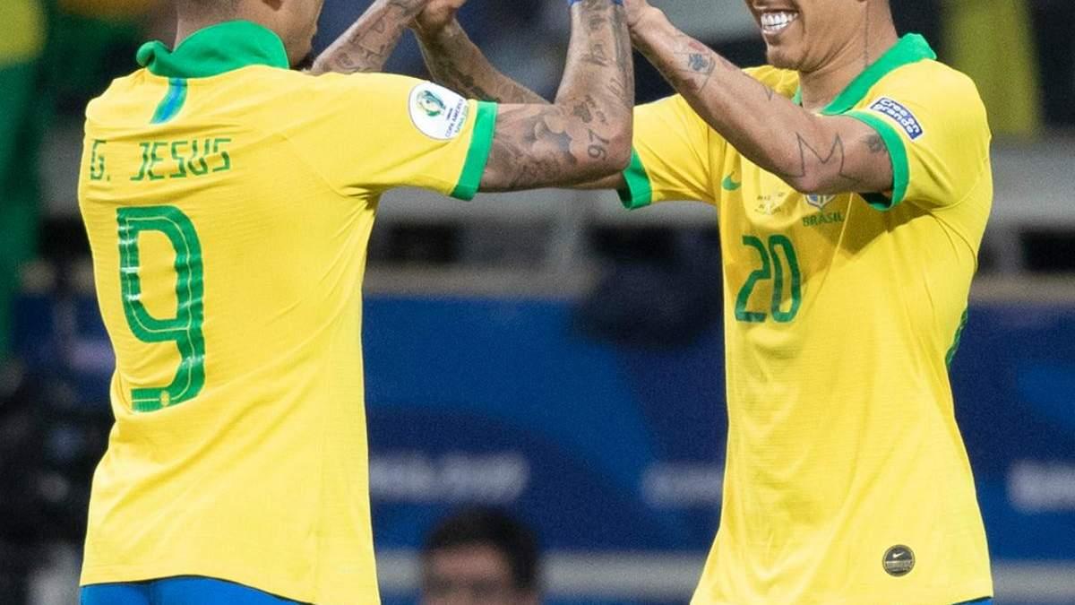 Бразилія вийшла у фінал Копа Амеріка