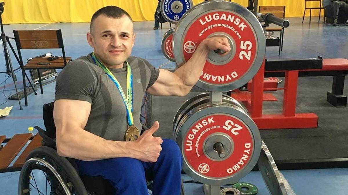 Как спортсмен-паралимпиец помогает участникам АТО – история Павла Козака