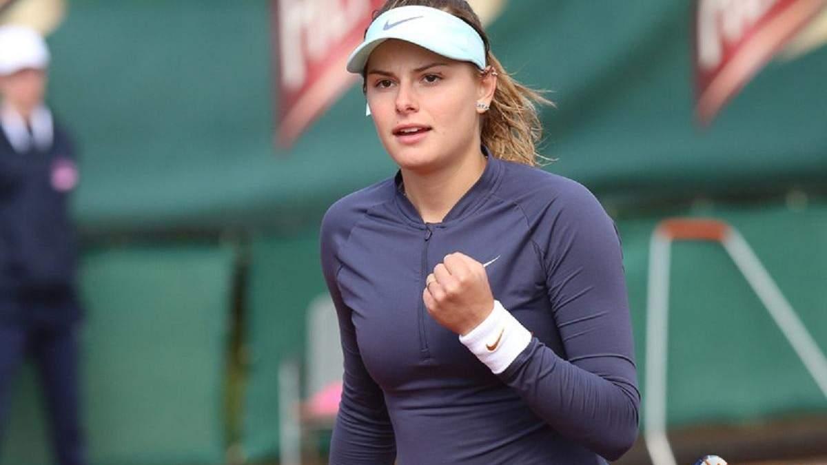 Українська тенісистка несподівано виграла турнір в Італії