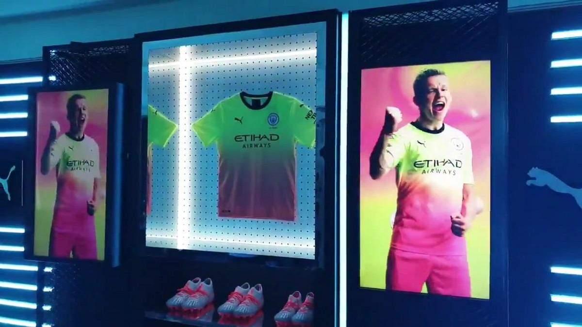 """Олександр Зінченко в презентації форми """"Манчестер Сіті"""""""