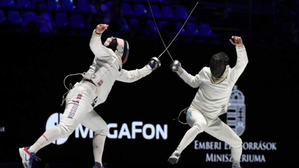 Украина завоевала вторую медаль на чемпионате мира по фехтованию