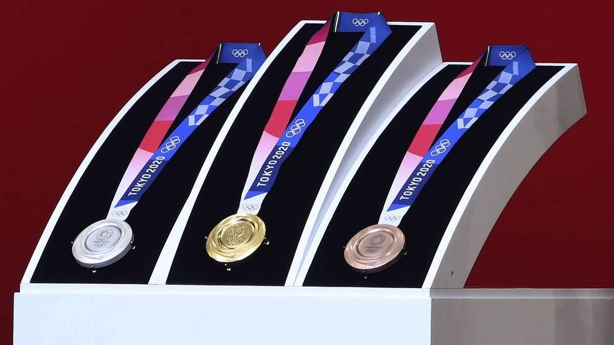 Медалі Олімпійських ігор 2020 в Токіо