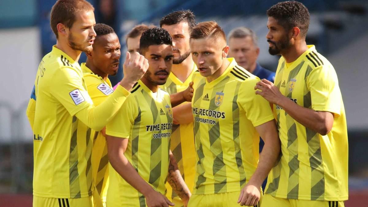 Клуб украинцев разгромил соперника в квалификации Лиги Европы