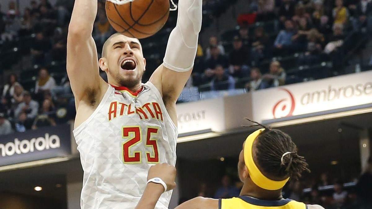 Лучшие данки украинского баскетболиста Алексея Леня в этом сезоне НБА: видео