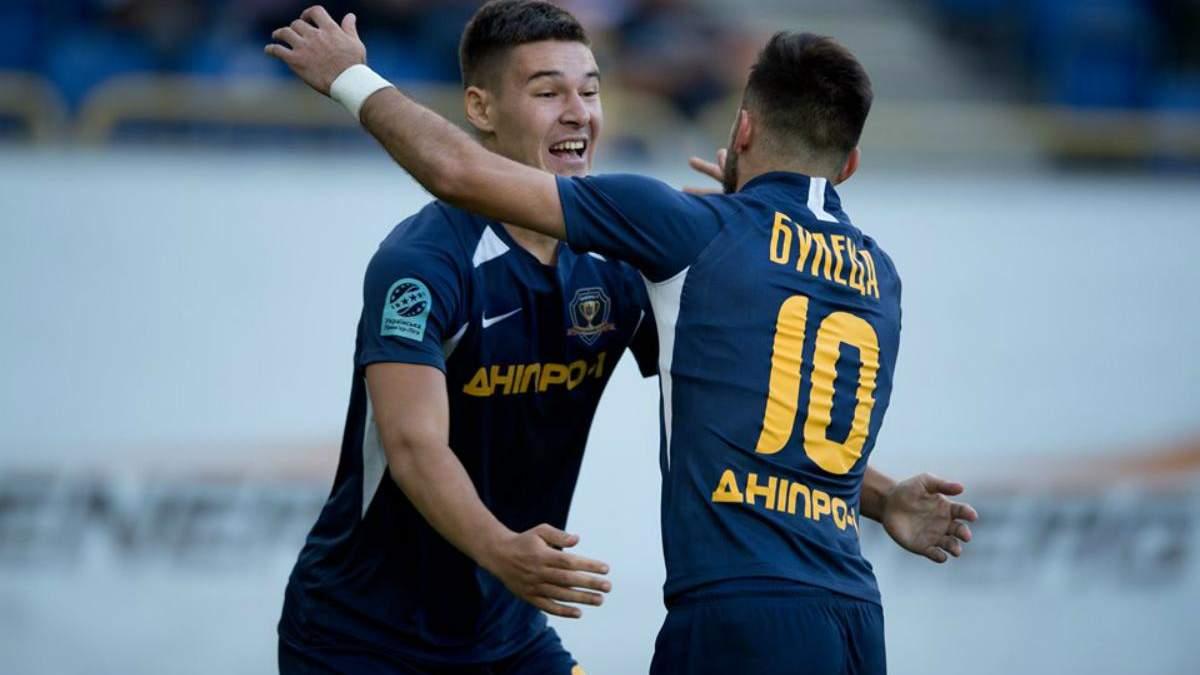 Дніпро-1 – Олімпік: огляд і рахунок матчу 31 липня 2019 Чемпіонату України 2019