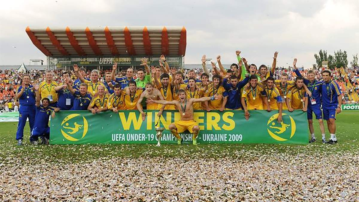 День в історії: 10 років перемозі юнацької збірної України на Чемпіонаті Європи