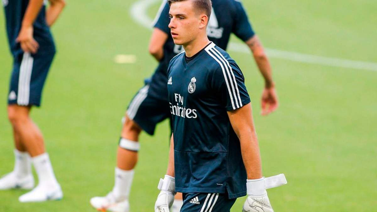 """Для меня важно играть в Ла Лиге, – Лунин о переходе в """"Вальядолид"""""""