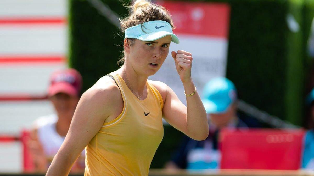 Свитолина уверенно пробилась в 1/8 финала на турнире в Цинциннати