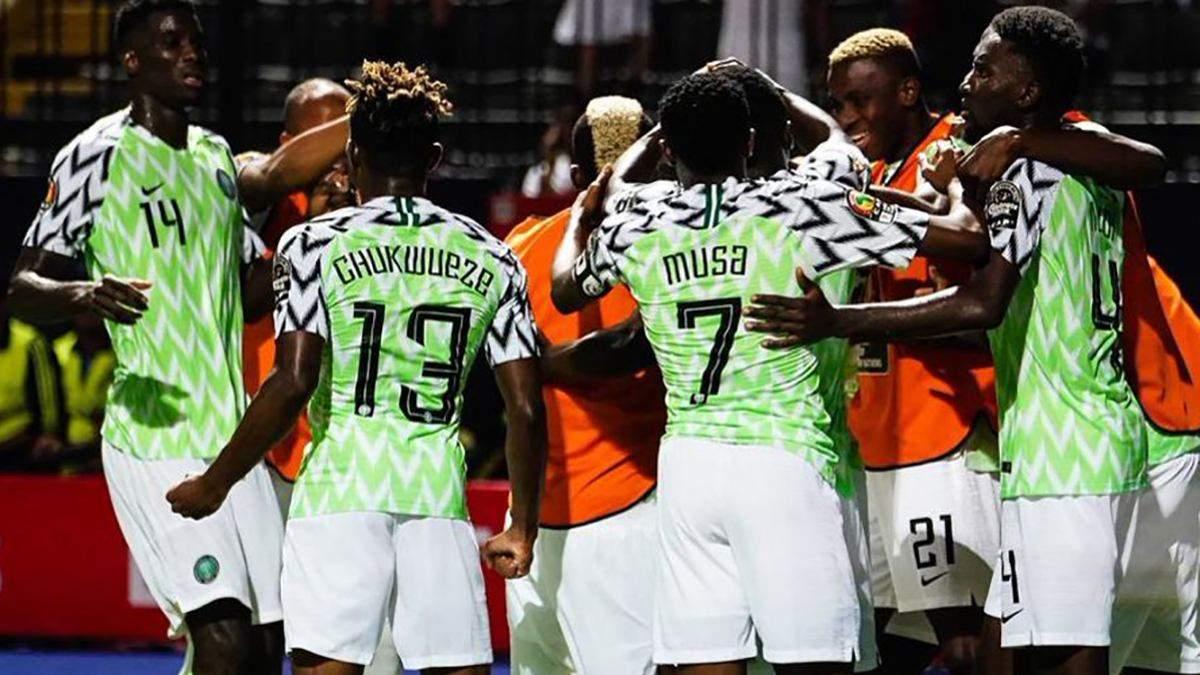 Нігерія оголосила склад на товариський матч проти України в Дніпрі
