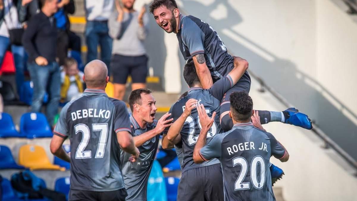 Роман Дебелко оформив дубль у матчі Ліги Європи