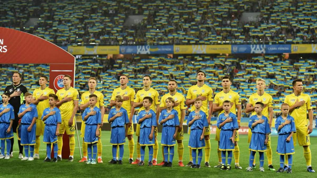 Збірна України оголосила склад на матчі проти Литви та Нігерії