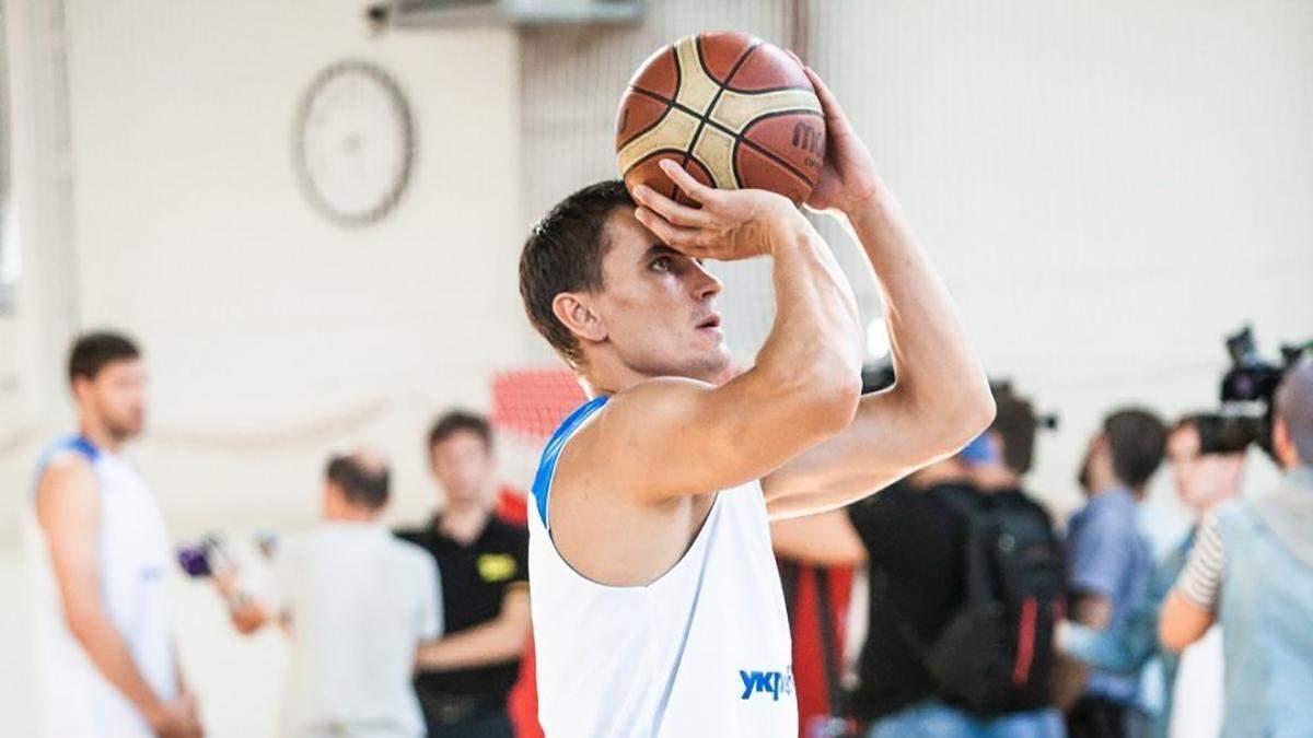 """Баскетболіст збірної України став гравцем """"Київ-Баскета"""""""