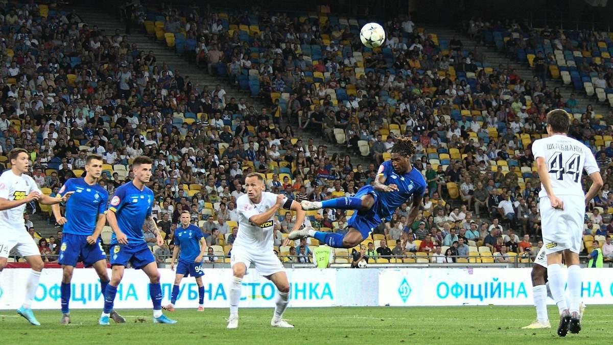Динамо – Олимпик: обзор и счет матча 24 августа 2019 – Чемпионат Украины