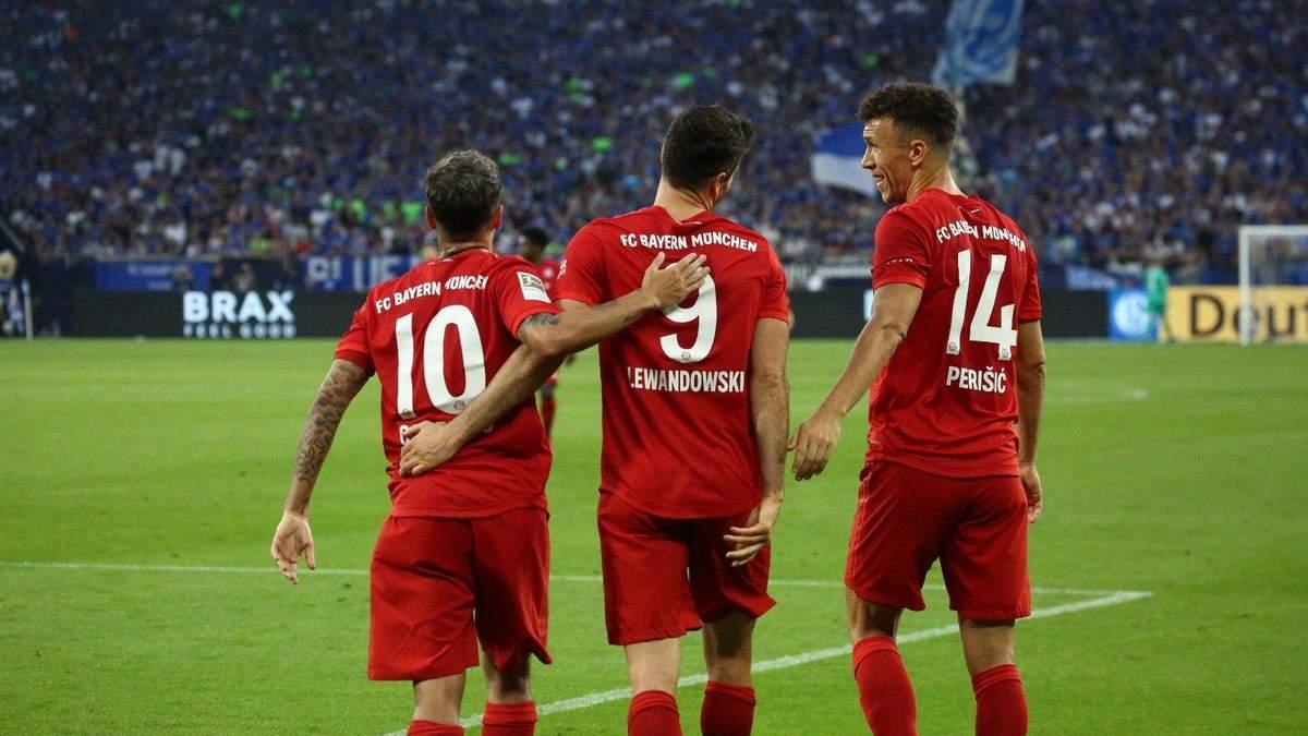 Шальке – Баварія: огляд і рахунок матчу 24 серпня 2019 – Бундесліга