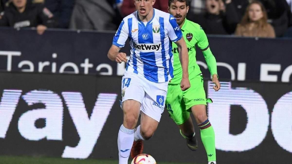 Испанский клуб неожиданно может отправить в аренду футболиста сборной Украины