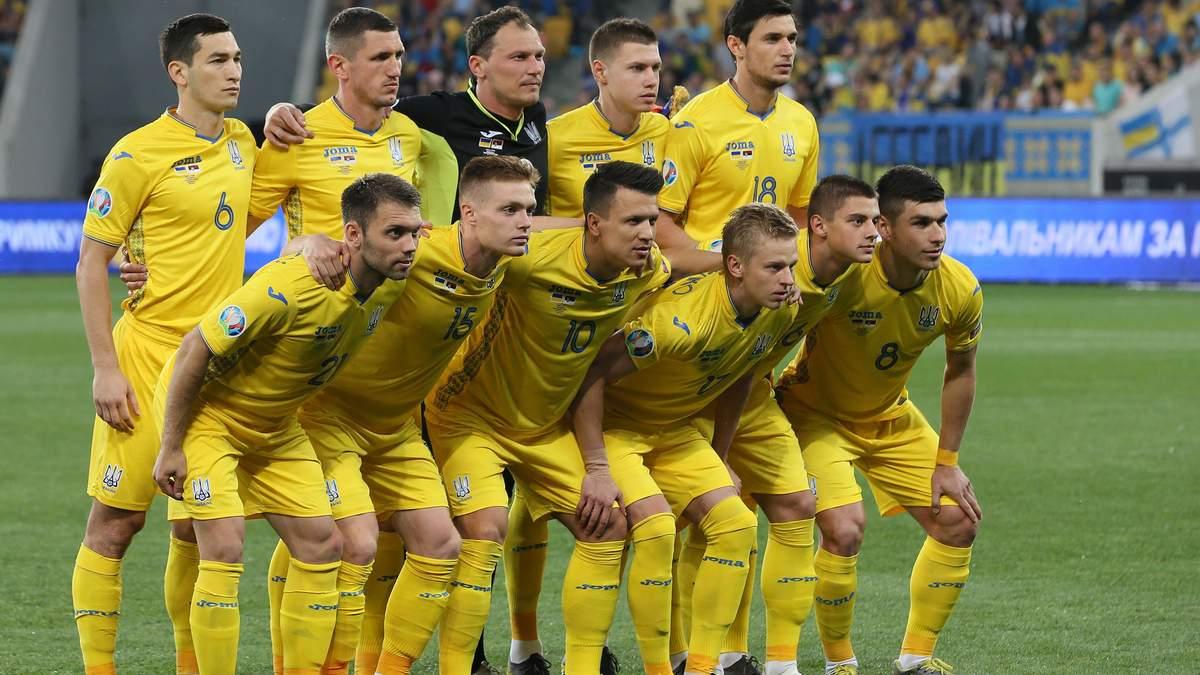 Збірна України з футболу яскравим відео привітала з Днем Незалежності