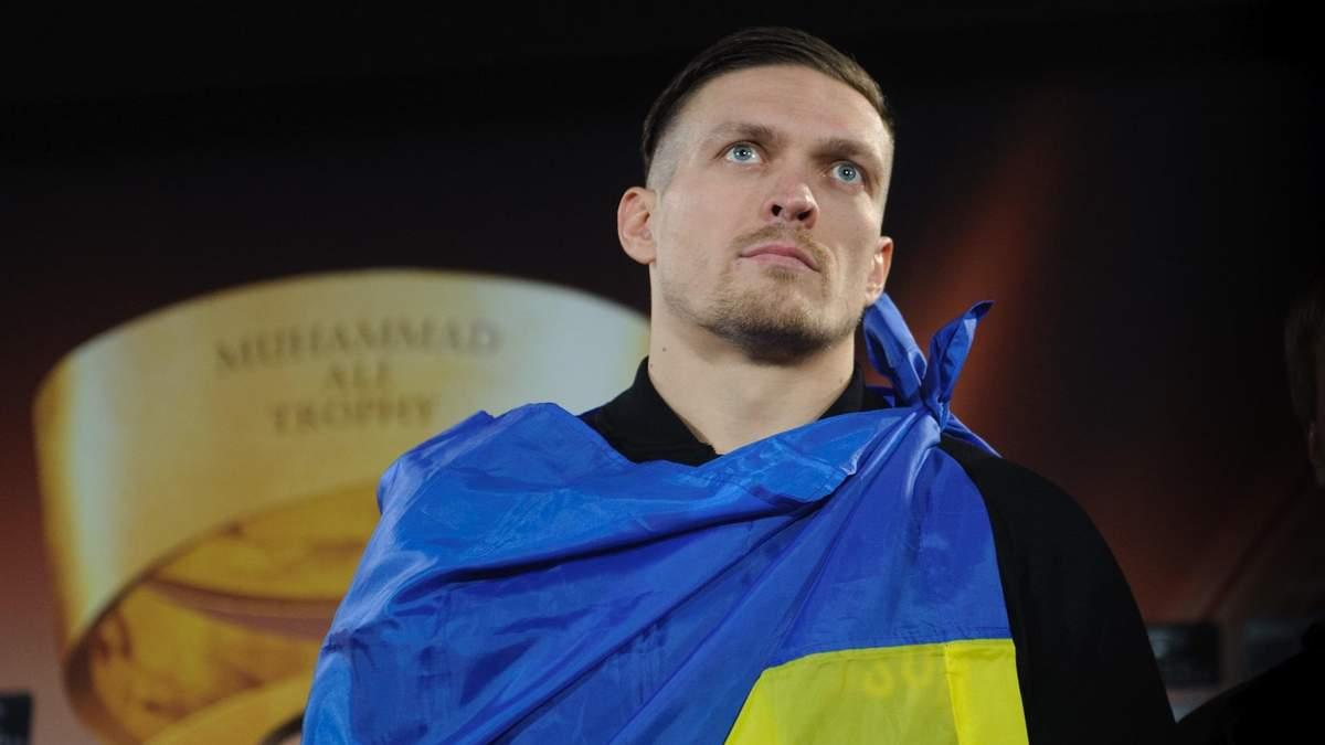 Усик зізнався, чому ніколи не вийде в ринг з російськими боксерами