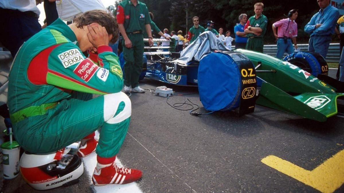 День в історії: 28 років невдалого дебюту Міхаеля Шумахера в Формулі-1