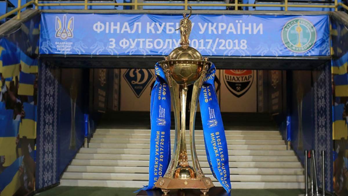 Результати жеребкування Кубка України