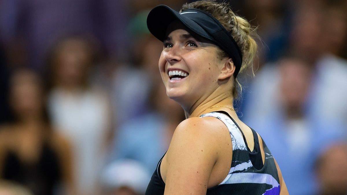 Еліна Світоліна вийшла у чвертьфінал US Open та встановила унікальне досягнення