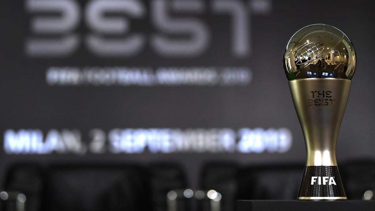 ФІФА назвала претендентів на кращого гравця, воротаря, тренера, вболівальника та гол року: імена