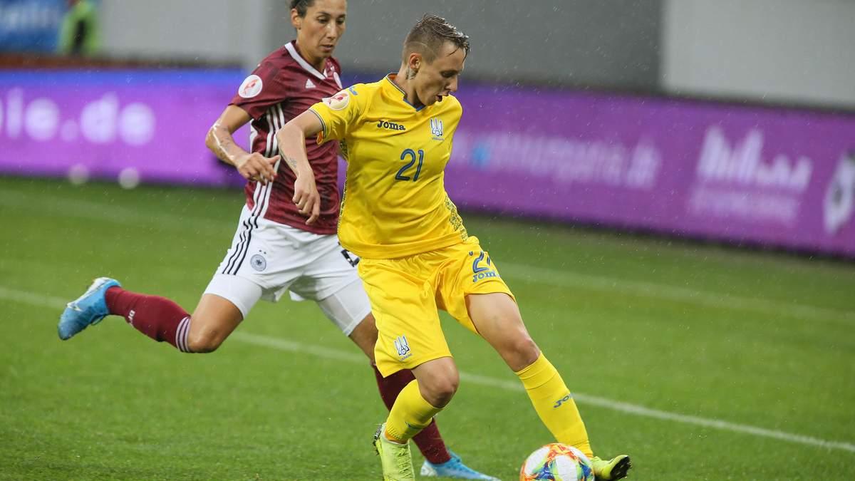 Україна зазнала принизливої поразки від Німеччини, пропустивши 8 голів у відборі на жіночий Євро