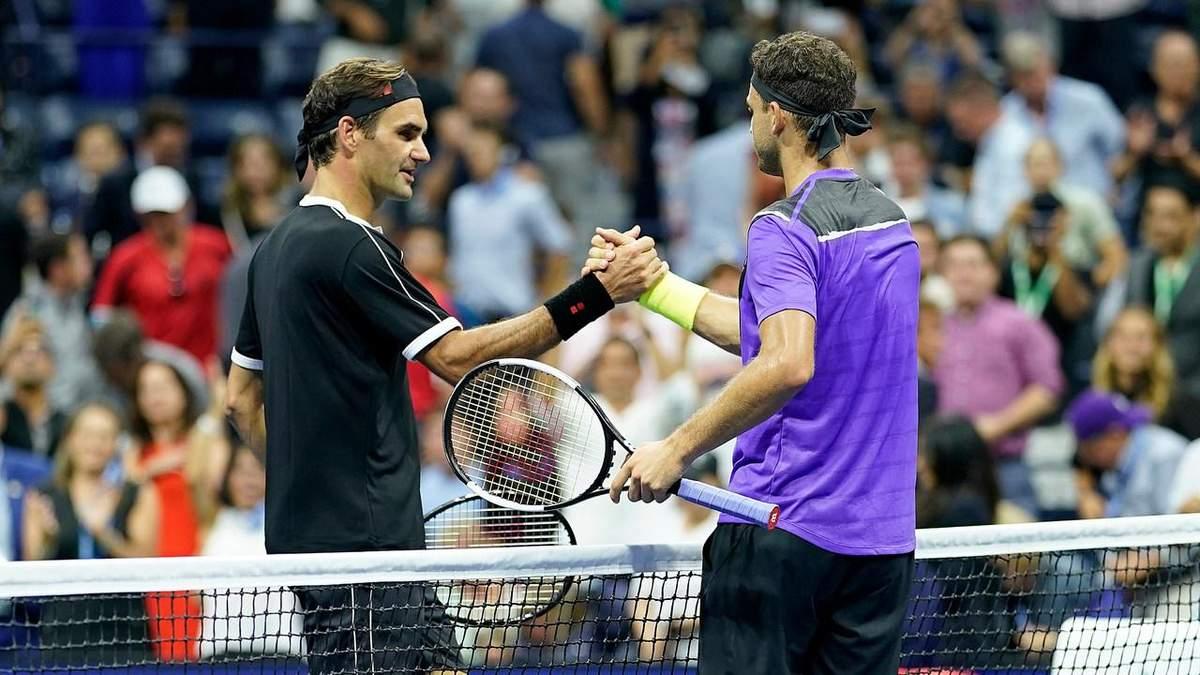 П'ятиразовий переможець US Open Роджер Федерер не зумів пробитися у півфінал турніру