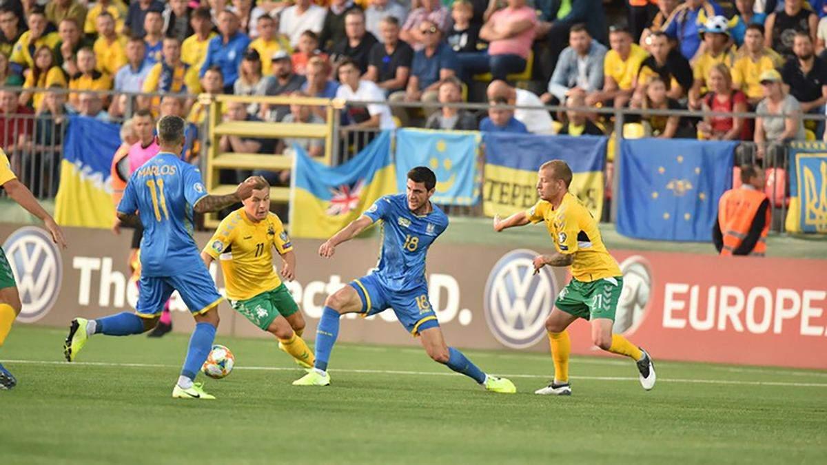 Литва – Україна: огляд відео голів матчу 7 вересня 2019 – Євро 2020