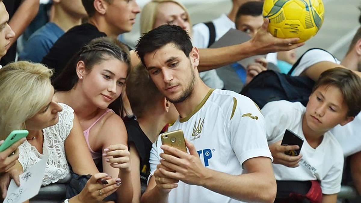 Нападник збірної України заявив про бажання грати в Італії