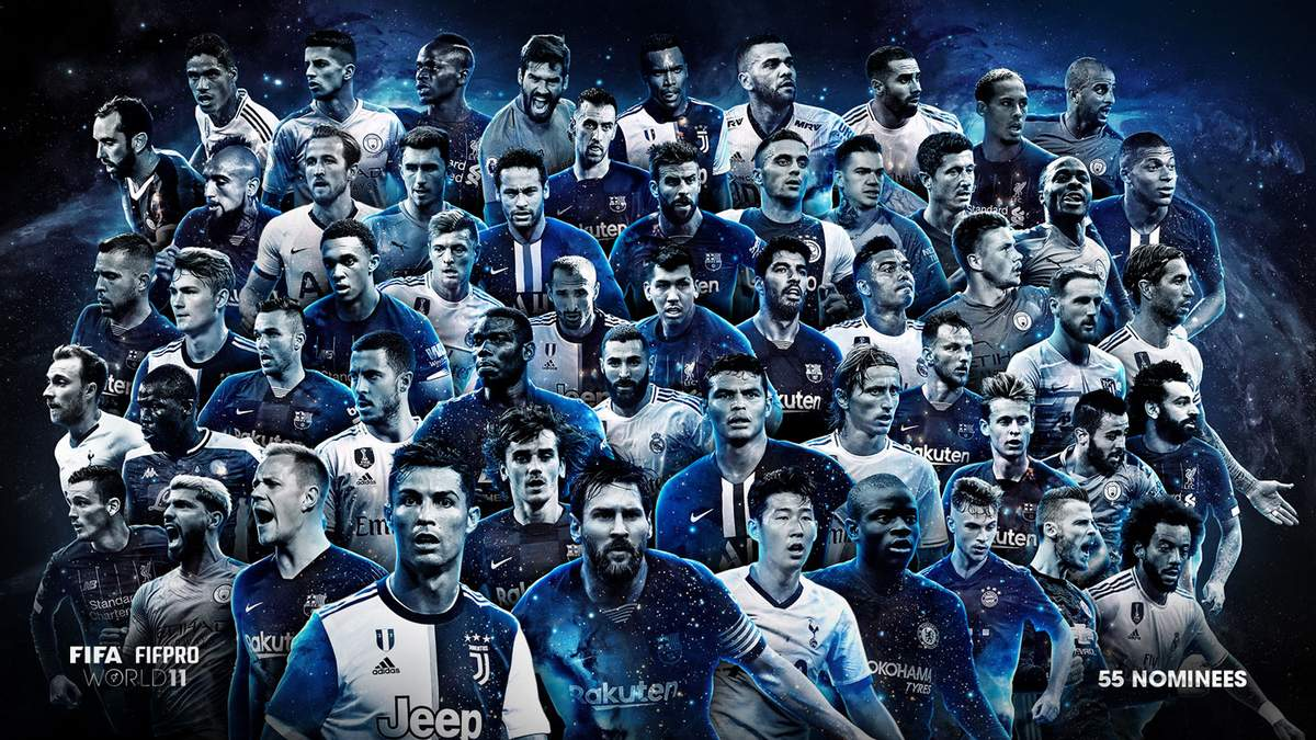 ФИФА назвала претендентов на символическую сборную