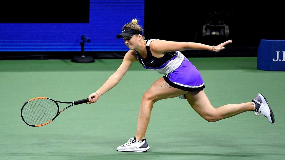 Світоліна програла Вільямс в 1/2 US Open - подробиці сету