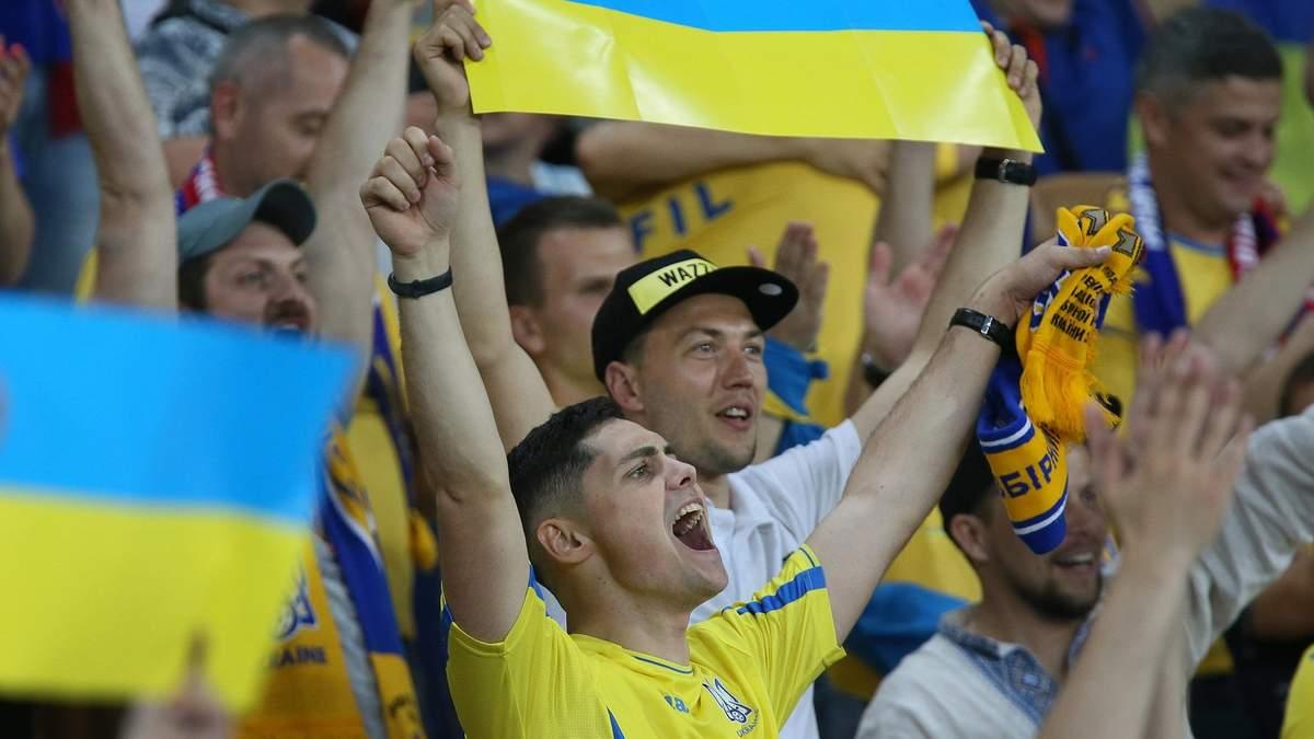 Сборную Украины в Литве поддержат около тысячи болельщиков