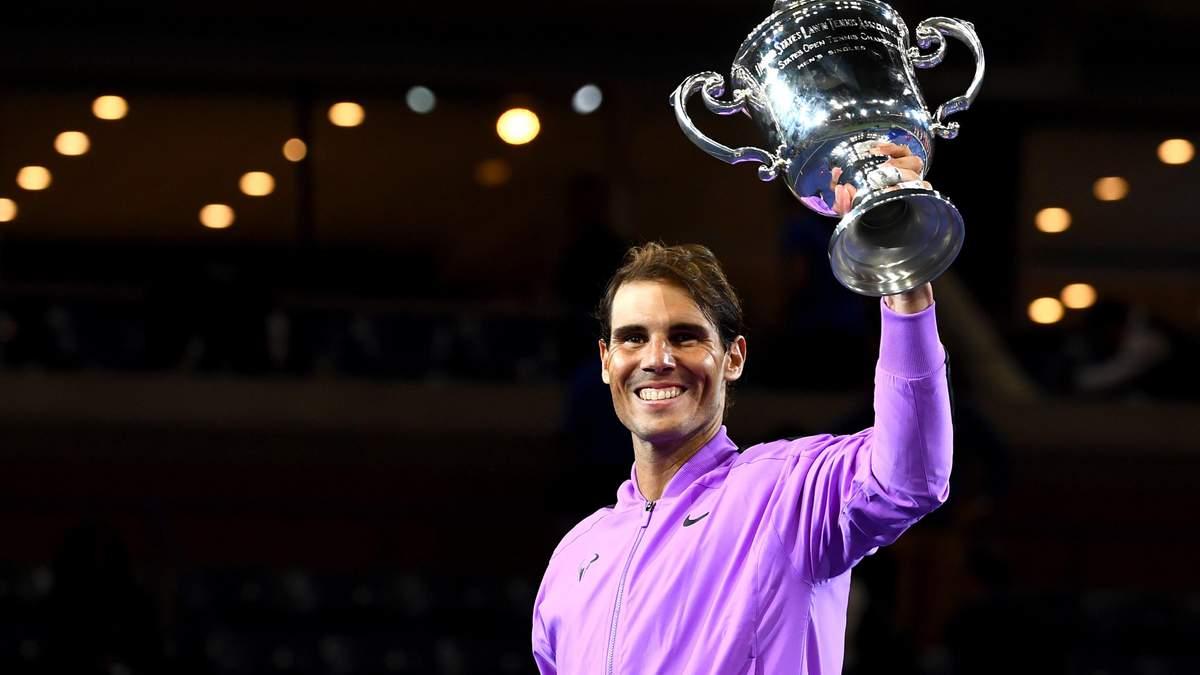Рафаэль Надаль победил на US Open, обыграв в финале россиянина
