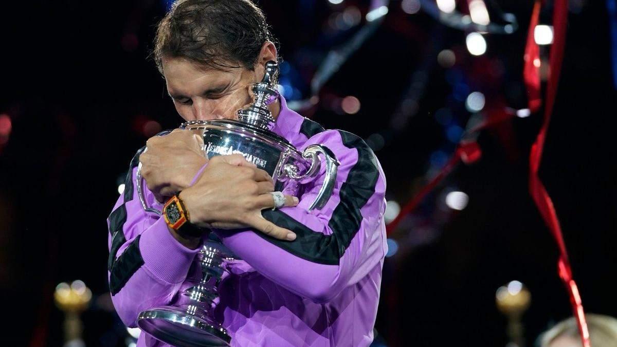 Надаль искренне расплакался после победы на US Open: щемящее видео