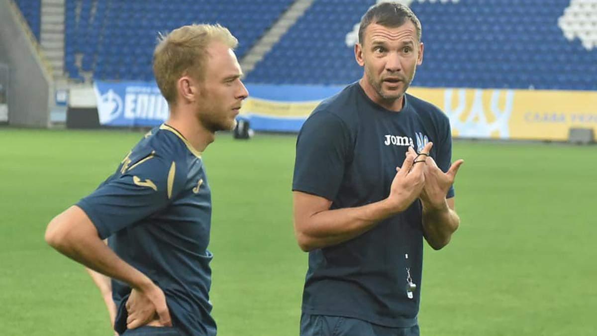 Шевченко рассказал, какие футболисты сыграют против Нигерии