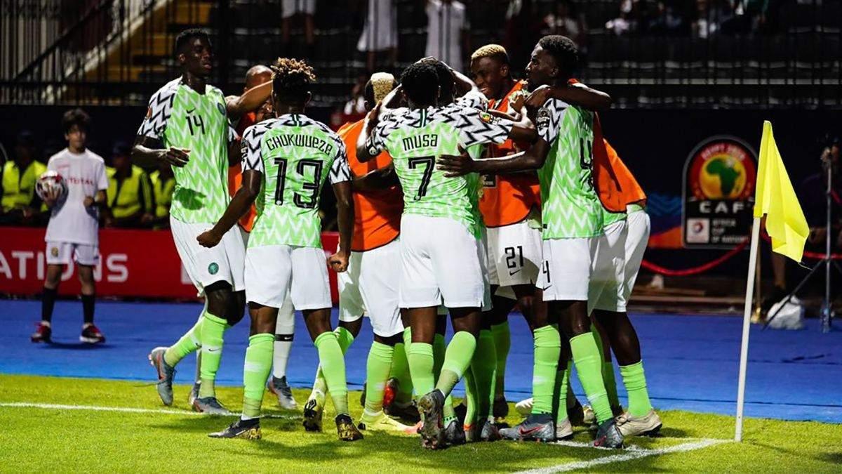Збірна Нігерії