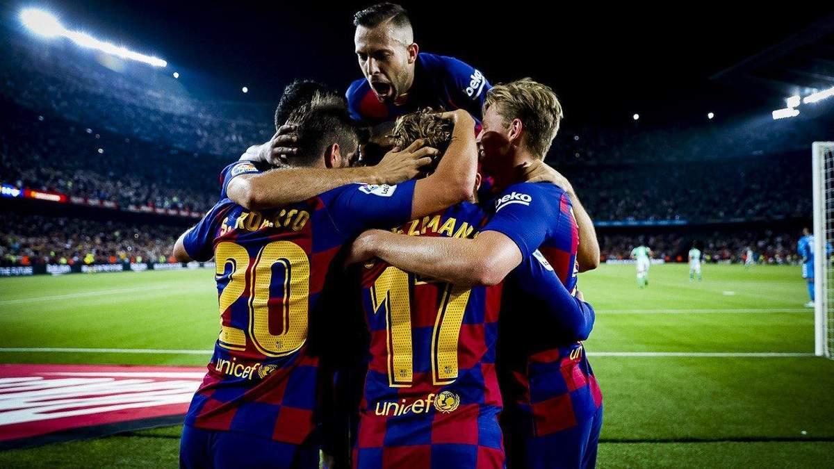 Барселона – Валенсія: де дивитися онлайн матч 14.09.2019