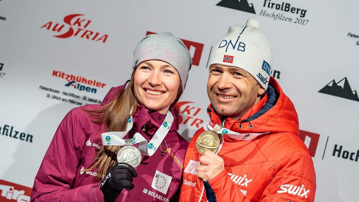 Знамениті біатлоністи Бйорндален і Домрачева стали тренерами збірної Китаю