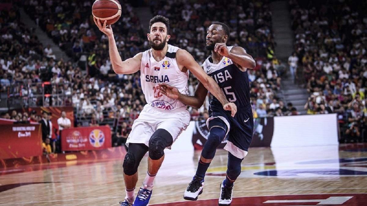 Збірна США встановила історичний антирекорд на чемпіонаті світу з баскетболу