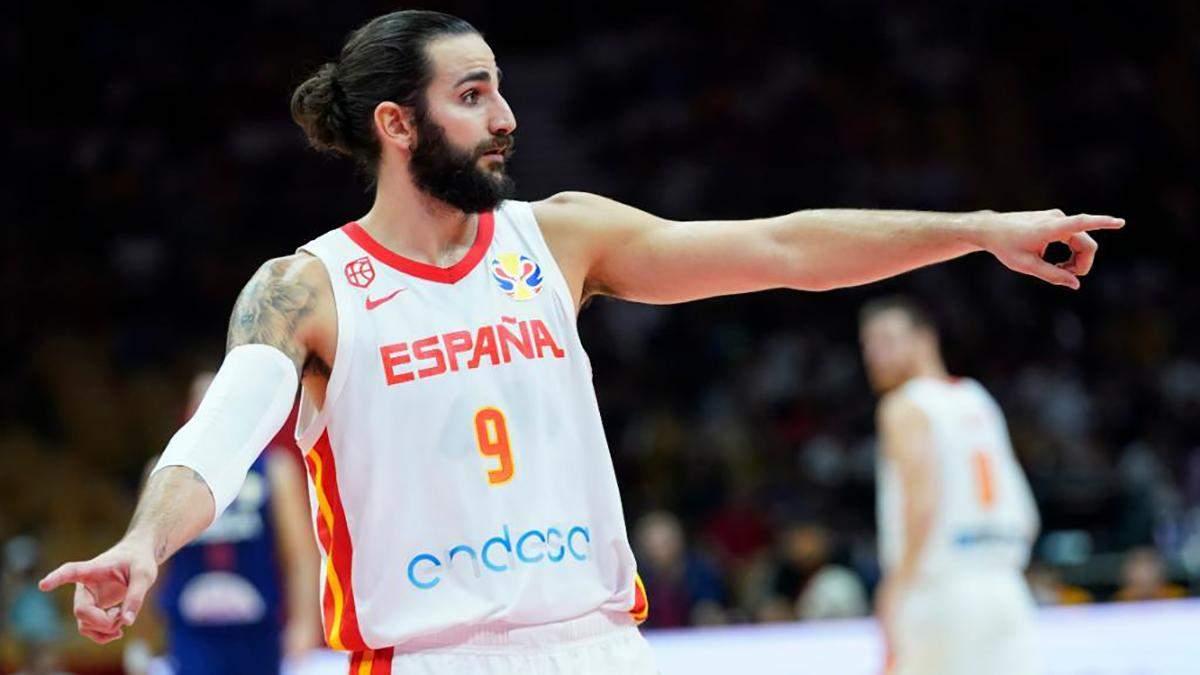 Іспанія зіграє у фіналі ЧС з баскетболу